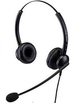 Eartec 510D binaural flex-boom wired headset