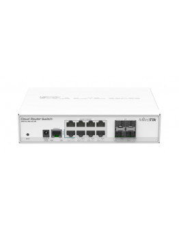 MikroTik Cloud Router Switch 112-8G-4S-IN (RouterOS Level 5)