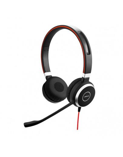 Jabra Evolve 40 Duo Headset 3.5mm jack