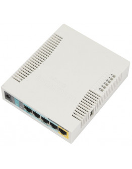 MikroTik RouterBoard 951Ui-2HnD (RouterOS Level 4) with UK PSU