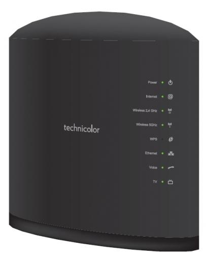 Technicolor TG389ac FTTH Router